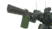 新装備:30mmマシンガン