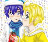 カイレン 11月11日ポッキー&プリッツの日 (カイト兄ポッキー食べる?うん...食べる♡)