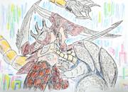 電子アニマルアノシラスvs裂刀怪獣メカバギラ【リベンジマッチ】