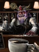 ようこそ、えんまコーヒー店へ