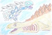 深海魚がモデルの怪獣たち