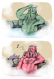 こんな神話生物はイヤだ 「温泉にハマったクトゥルフ」