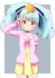 リリィちゃんにはパプリカ学園小学部の制服が良く似合う♪(*´Д`*)