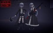 【MMDブラックラグーン】双子ちゃん