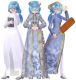 Tda式初音ミク+Outfit Ao Dai【モデル配布】