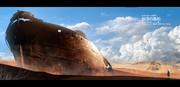 砂漠の廃船【世界観設定】