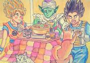 ドラゴンボール鍋パーティー