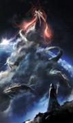雲を泳ぐ世界蛇