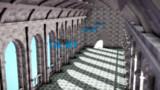 シンプル宮殿ステージ(渡り廊下)【MMDステージ配布あり】