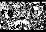 【切り絵】フラワーナイトガール