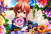 【かにフレ!】ドーナツ食べましょう♪