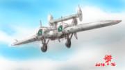 航空戦闘攻撃MS「タマツー」試作2号機