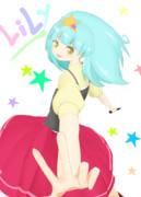 星川リリィちゃん描いてみた