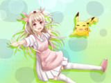 Let's go Pikachu and Natori!
