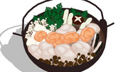 【MMDアクセサリ配布あり】あんこう鍋【金カムMMD】