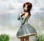 姫様、スカートが長すぎです!