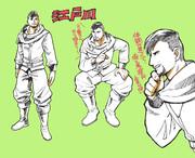 人狼殺の男アバターはもはや江戸川さんにしか見えない