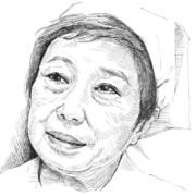追悼似顔絵:赤木春恵さん