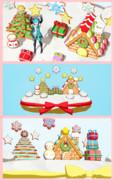 【MMD】Xmasケーキのステージ【ステージ配布】