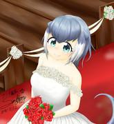 純白の女神 花嫁コツメカワウソ