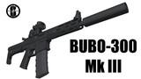 【MMD銃火器】BUBO-300 Mk III【配布】