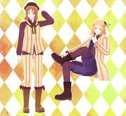 【リスト配布】まつ式ポ一ランド・リ卜アニア 縦縞衣装