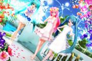 【今日のYYBルカさん】花が咲く 天使達の楽園♡