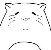 どっかの猫をマウスでトレス