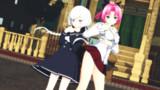 【ゾンビランドサガ】紺野純子とスピカさん【MMD】