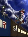 夜汽車と魔女