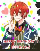 坂田さん!happy birthday!