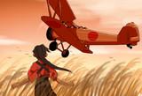 鳳翔と赤とんぼ