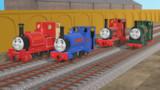 【MMDきかんしゃトーマス】4だいの小さな機関車【配布あり】