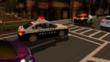無理やり乗せたので、次は警察署に移送