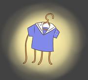 発光器官を持つ衣類