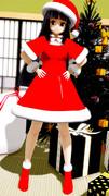 サンタ服の輝夜ちゃん