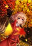 あの黄と紅の葉のように