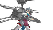 駆逐戦艦清霜 伊勢型アーマー
