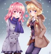 冬服ゆかゆゆ