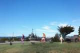 MMD静止画+実写加工「広島県呉市 大和波止場公園」