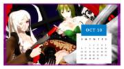 カレンダープロジェクト2019・10月