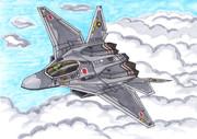 架空の国産ステルス戦闘機