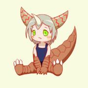 尻尾振りゴモラちゃん
