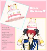 【MMDアクセサリ配布】Happy birthday帽