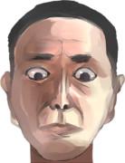 富樫正敬マン..写実的に描いてみました。