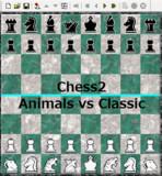【Chess2】Animals vs Classic【対局】