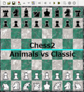 【Chess2】Animals vs Classic【対局】
