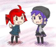 テトさんとデフォ子さん