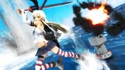 【MMD艦これ】更に闘う島風と連装砲ちゃん【RL式島風】