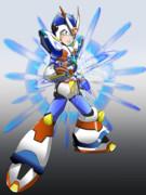 【落書】ROCKMANX3 サードアーマー